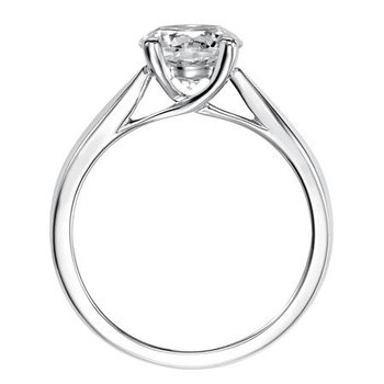 2.5mm Tapered Trellis Solitaire Mounting - .75ct