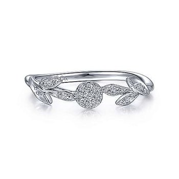Flower Power Diamond Ring