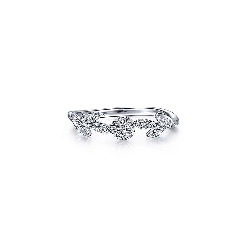 Gabriel Fashion Flower Power Diamond Ring
