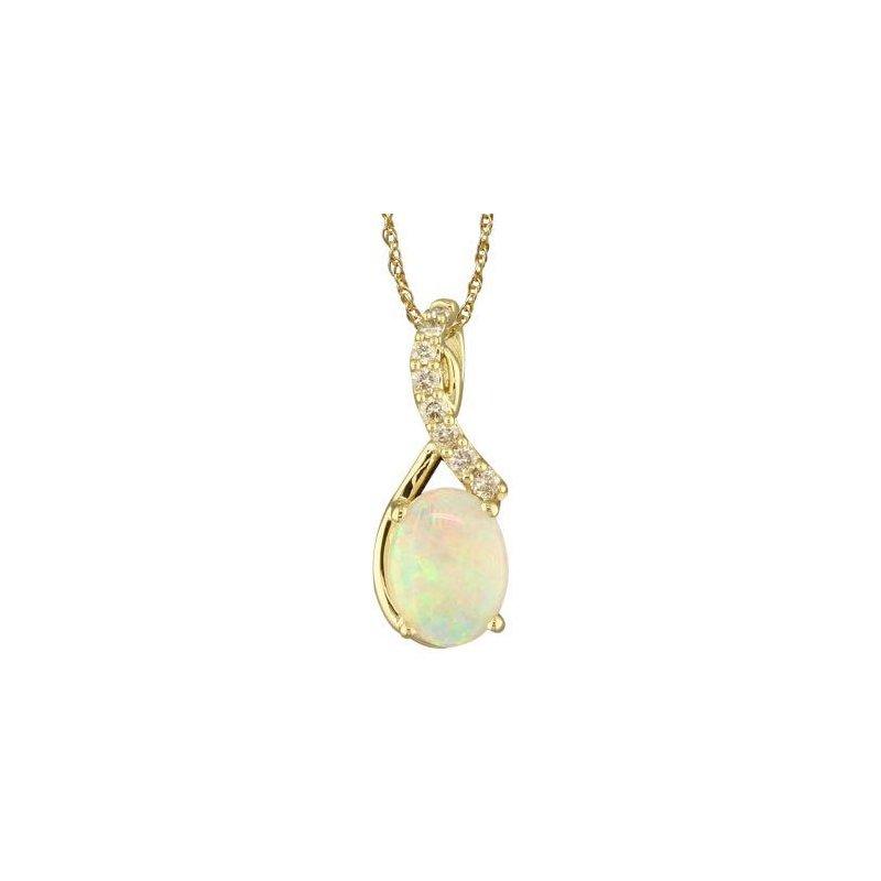 Lasker Gemstone Australian Opal Pendant