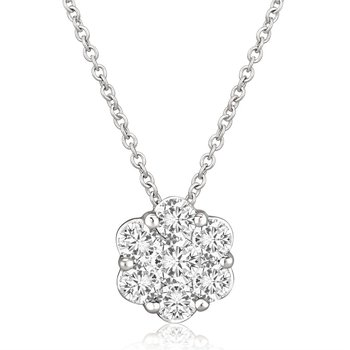 Fire & Ice Aquarius Diamond Pendant - .25cttw