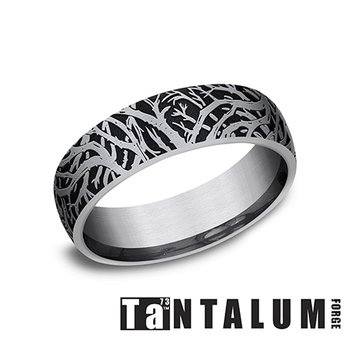 6mm Tantalum Band - Enchanted Forest