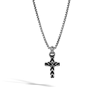 Asli Classic Chain Link Cross Pendant Necklace