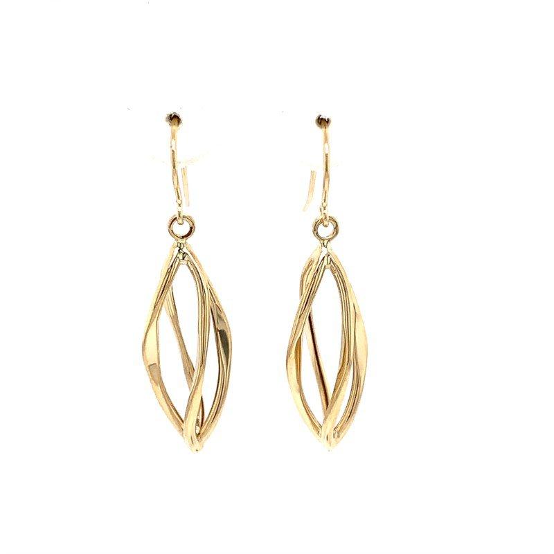 Lasker Gold Fashion NAIVETE DROP EARRINGS