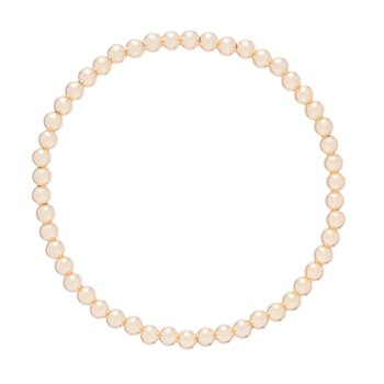 Classic Gold Filled 4mm Bead Bracelet