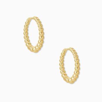 Josie Huggie Earrings In Yellow