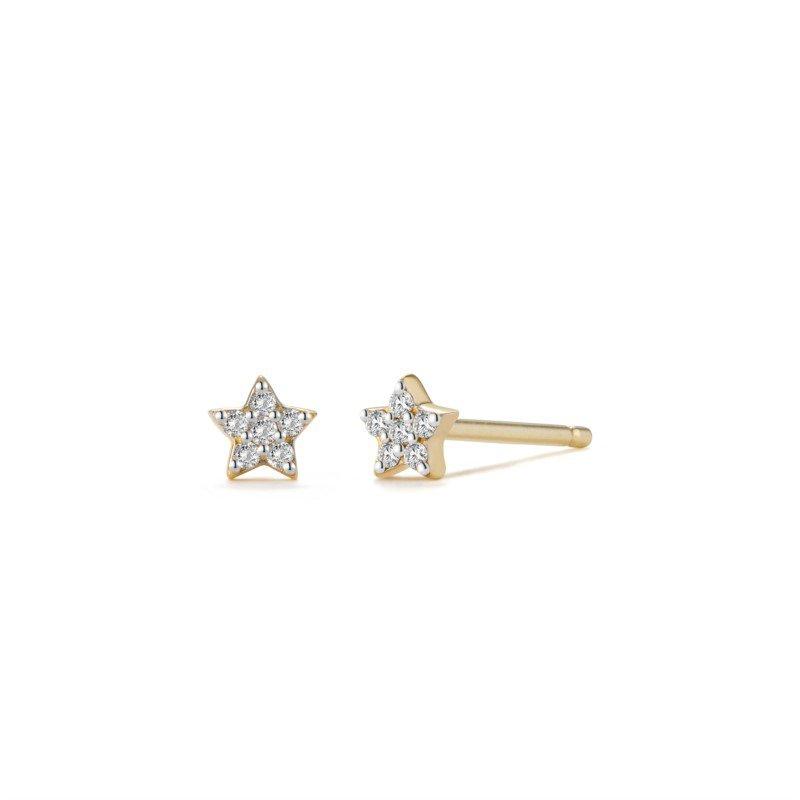 Aurelie Gi Felicity Diamond Star Studs