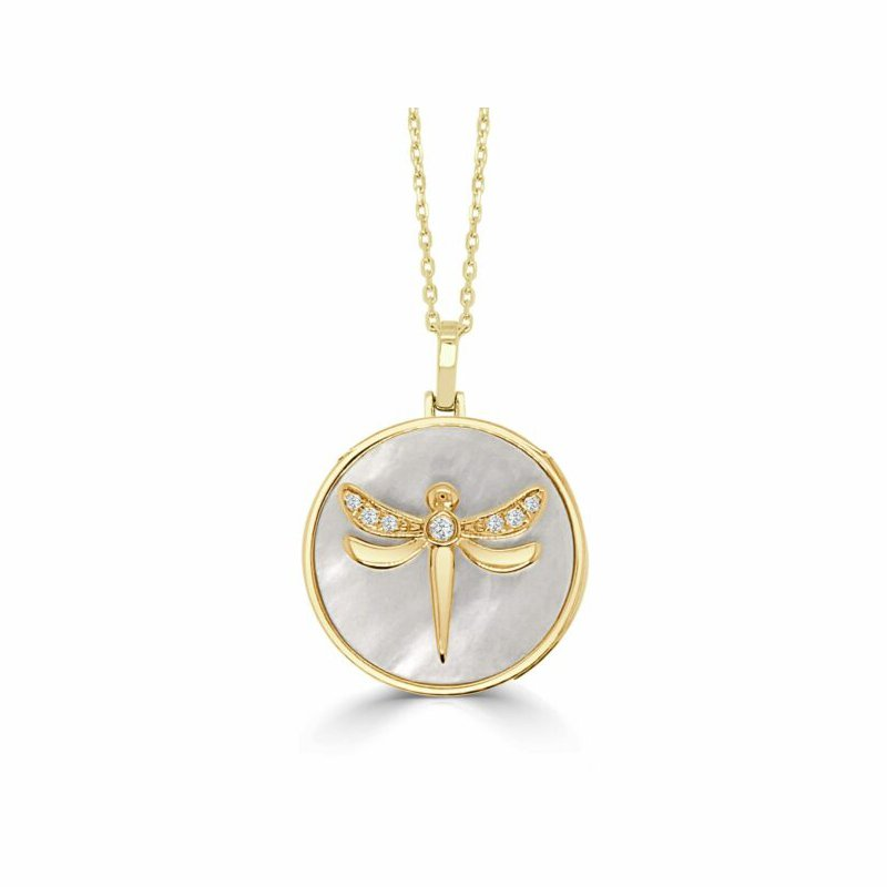 Frederic Sage Happy Dragonfly Pendant