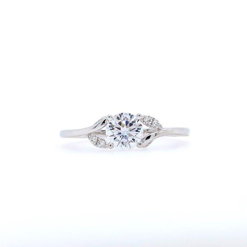 Frederic Sage Designer Floral Split-Shank Ring Mounting