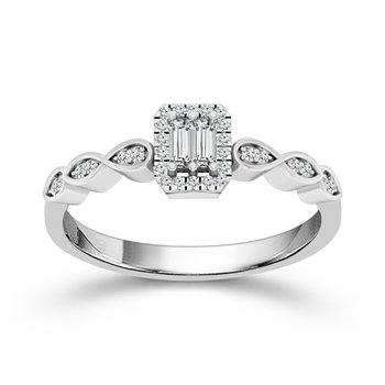 Center of My World Promise Ring