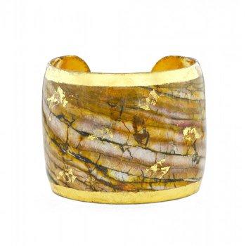 Marble Bronze Cuff