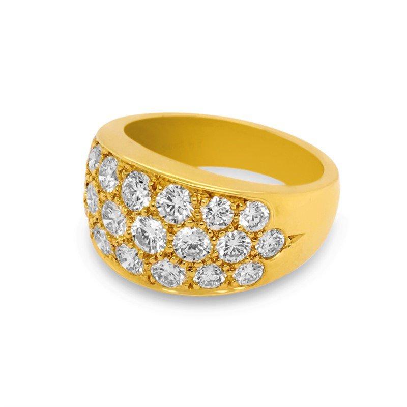 Suna Large Diamond Pave Ring