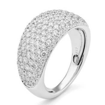Elegant Diamond Pave Ring