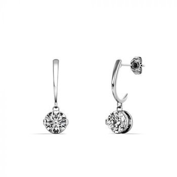 One & Only Dangle Earrings - 1/2CTTW