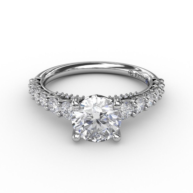 Fana Classic Prong Engagement Ring Mounting