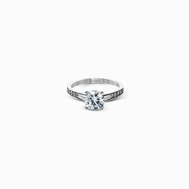 Simon G Contemporary Style Engagement Ring Mounting