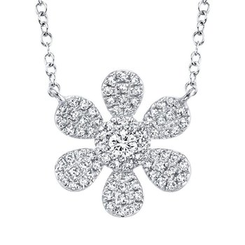 Flower Power Diamond Necklace