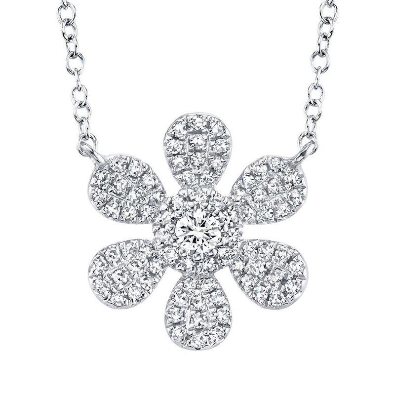 Lasker Diamond Fashion Flower Power Diamond Necklace