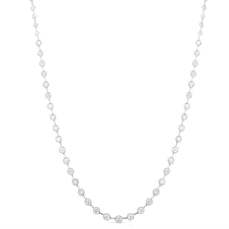 Lasker Diamond Fashion Milestone Necklace - 1.93cttw