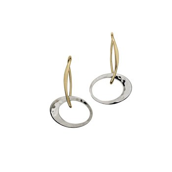 E.L. Designs Petite Elliptical Earrings