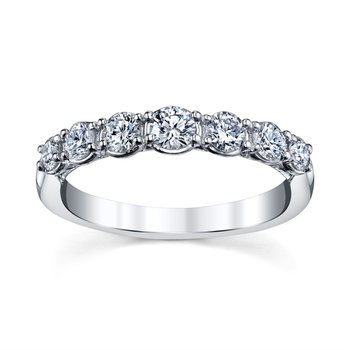 Royal Crown Diamond Band - 1/2cttw