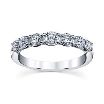 Royal Crown Diamond Band - 1/2cttw