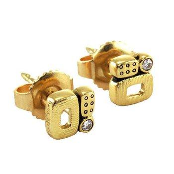 Little Windows Diamond Stud earrings