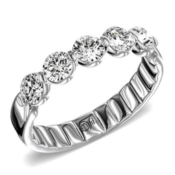 5-Stone Diamond Band - 1CTTW