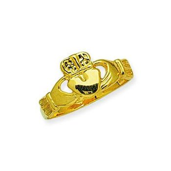 14kt Claddagh Ring