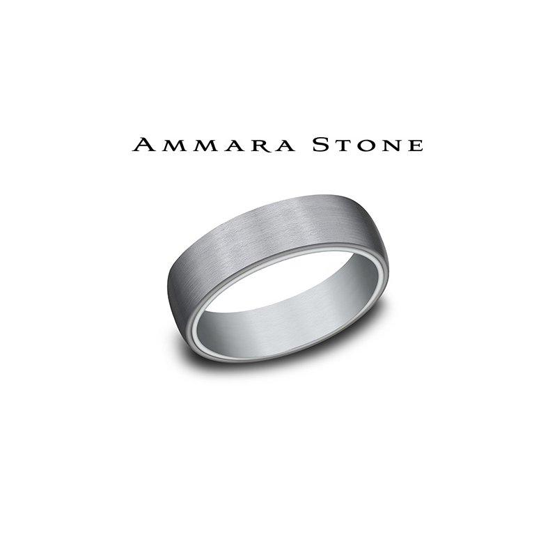 Lasker Men's AMMARA STONE 14KW & TANTALUM
