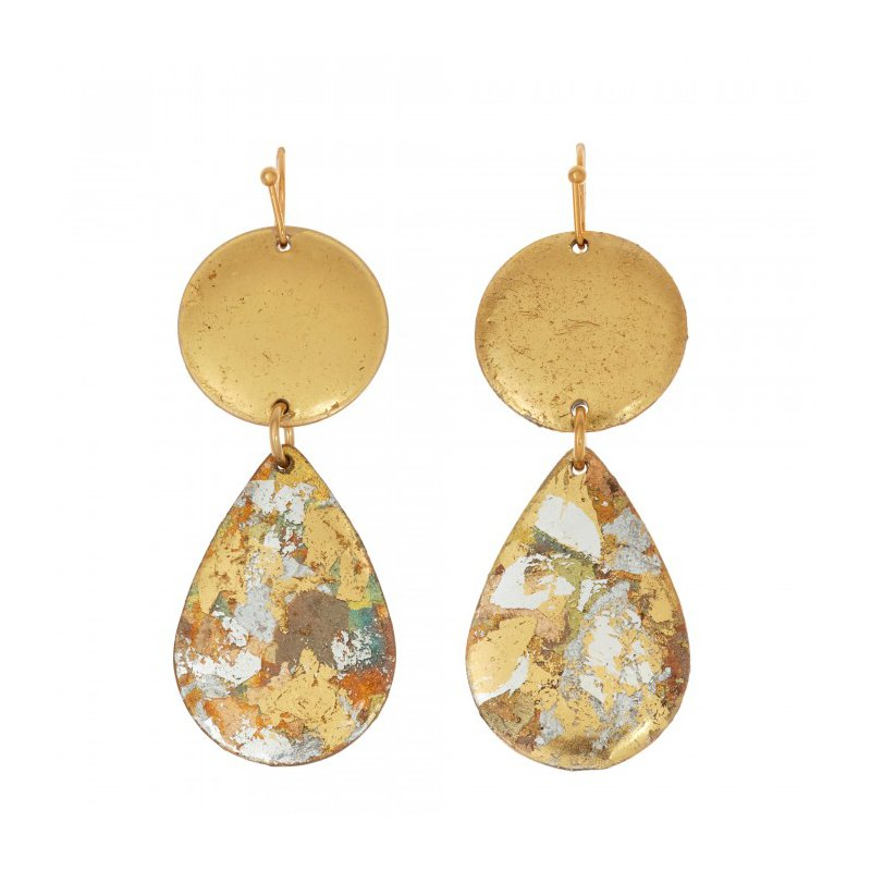 Evocateur The Cosmos Teardrop Earrings