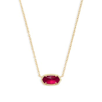 Elisa Necklace In Berry Illusion