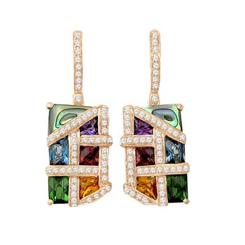 Bellarri Mosaic Nouveau Earrings