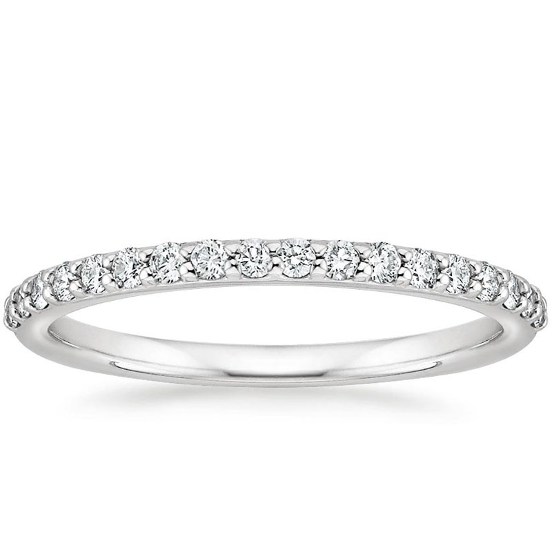 Lasker Bridal Classic Diamond Wedding Band-1/5cttw