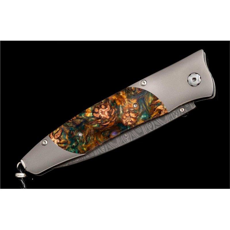 William Henry Mardi Gras Pocket Knife