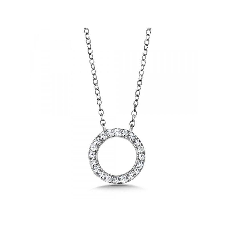 Lasker Diamond Fashion Circle Of Life Diamond Pendant
