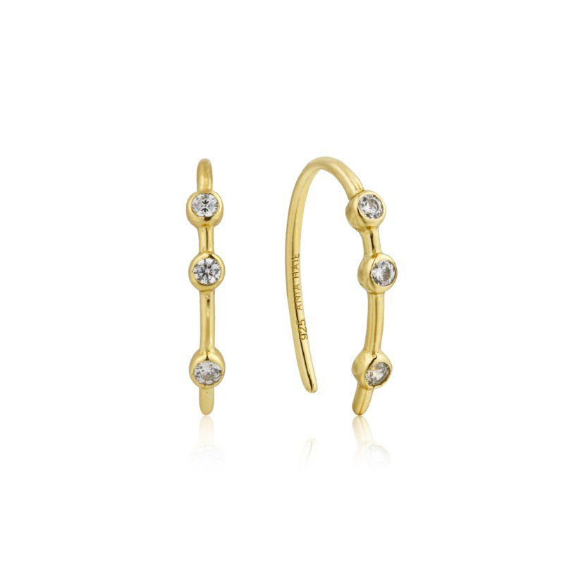 Ania Haie Touch Of Sparkle Hook Earring