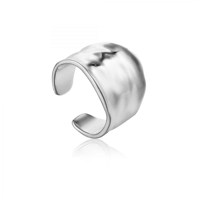 Ania Haie Wide Crush Ring