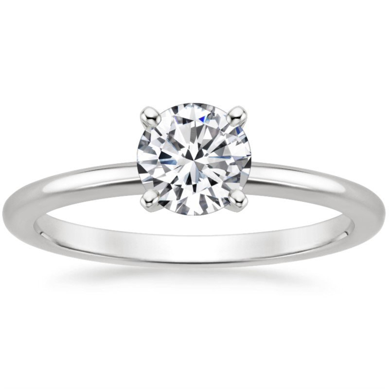 Lasker Bridal Simply Petite Ring - 0.70ct Round