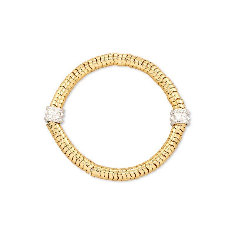 Kendra Scott Kendra Scott shiva Stretch Bracelet Gold Metal