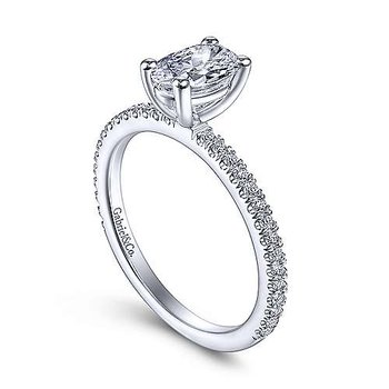 Stefanie Classic Oval Ring Mounting