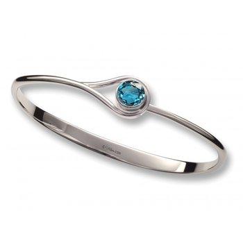 Desire Bracelet with Blue Topaz