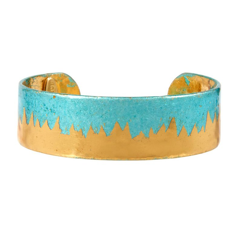 Evocateur Skyline Turquoise Cuff