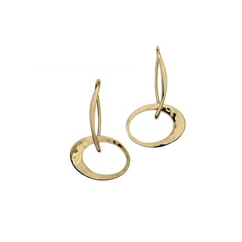 Petite Elliptical Earrings