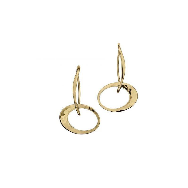 E.L. Designs Petite Elliptical Earrings
