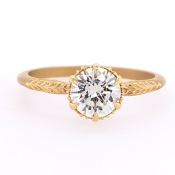 Megan Thorne Evergreen Solitaire Ring