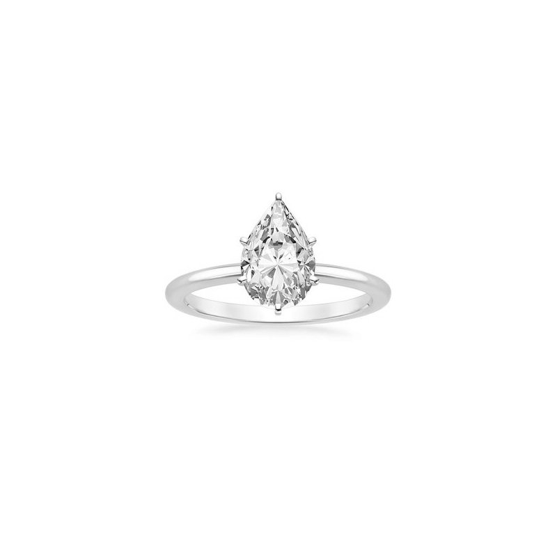 Lasker Bridal One & Only Pear Solitaire Ring - 0.40CT