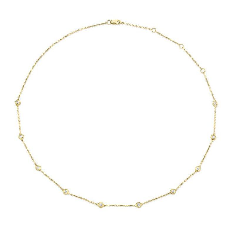 Lasker Diamond Fashion Milestone Diamonds By the Yard Necklace