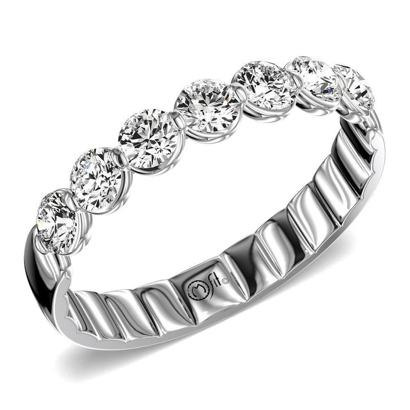 Lasker Bridal Comfort Fit Diamond Band - 1.40CTTW