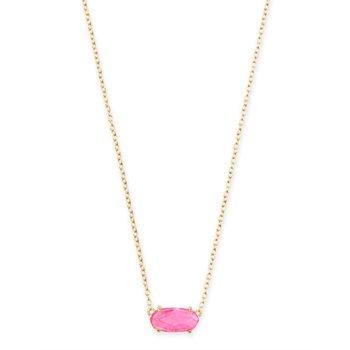 Ever Gold Pendant Necklace In Azalea Illusion